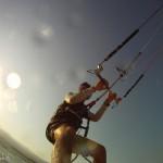 KiteSurfing in Tel Aviv (GoPro Camera)